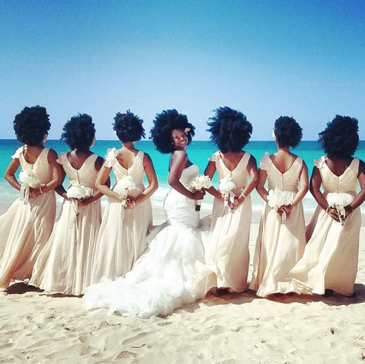How About A Nigerian Private Beach Wedding Anyone?