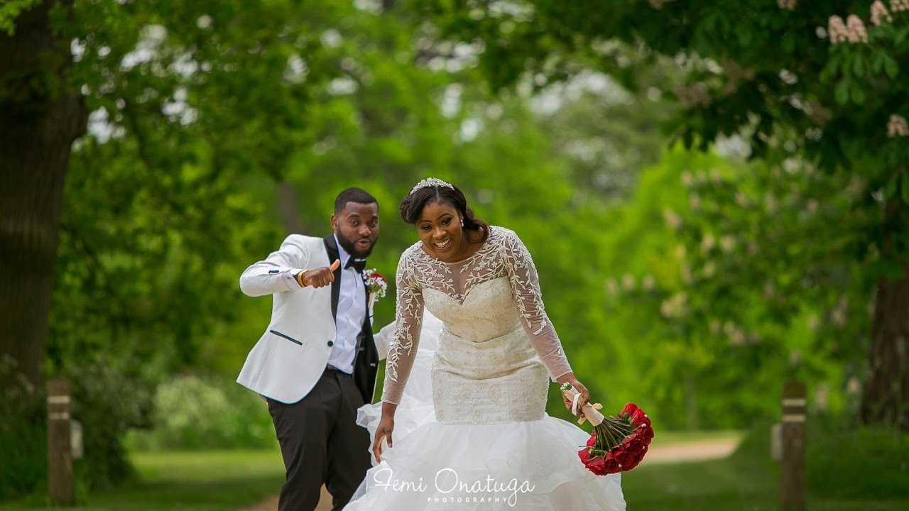 Pin It Watch Sandra Olumide Ajayi Luxe Traditional White Wedding Ceremony In The Uk A