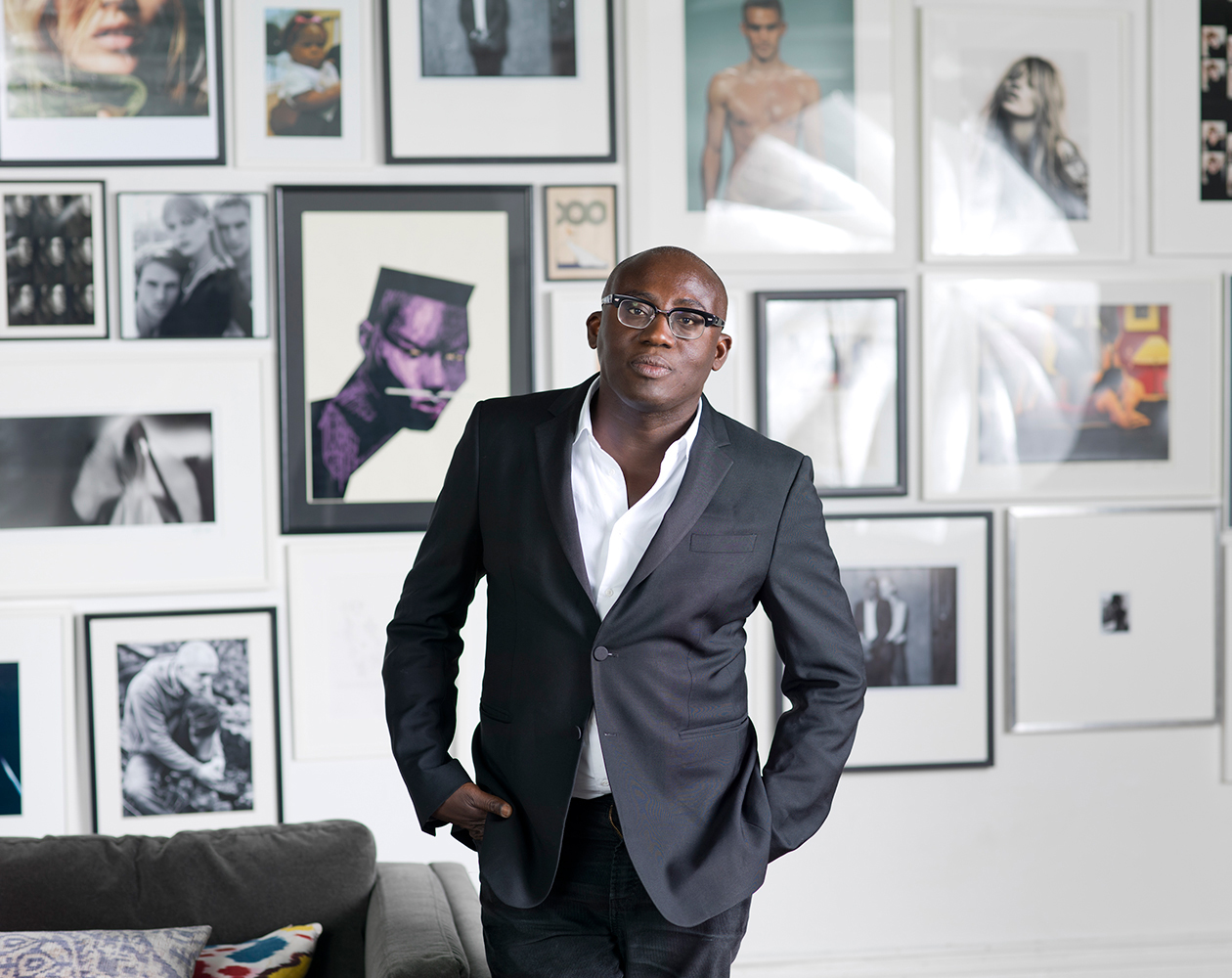 British Vogue Appoints Ghanaian Born Stylist, Edward Enninful, As Its First Black Editor