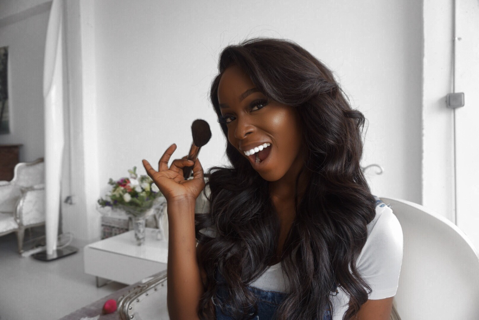 Watch How Melanin Goddess Kehinde Smith Achieves The Chic Messy Hair Look