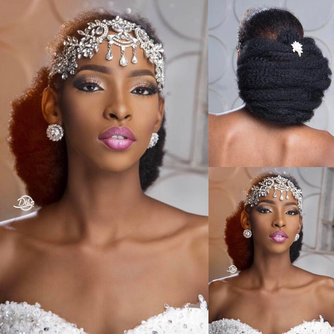 This Natural Bride Has Us All Screaming Goals!!! In This Beautiful Wedding Photo Shoot