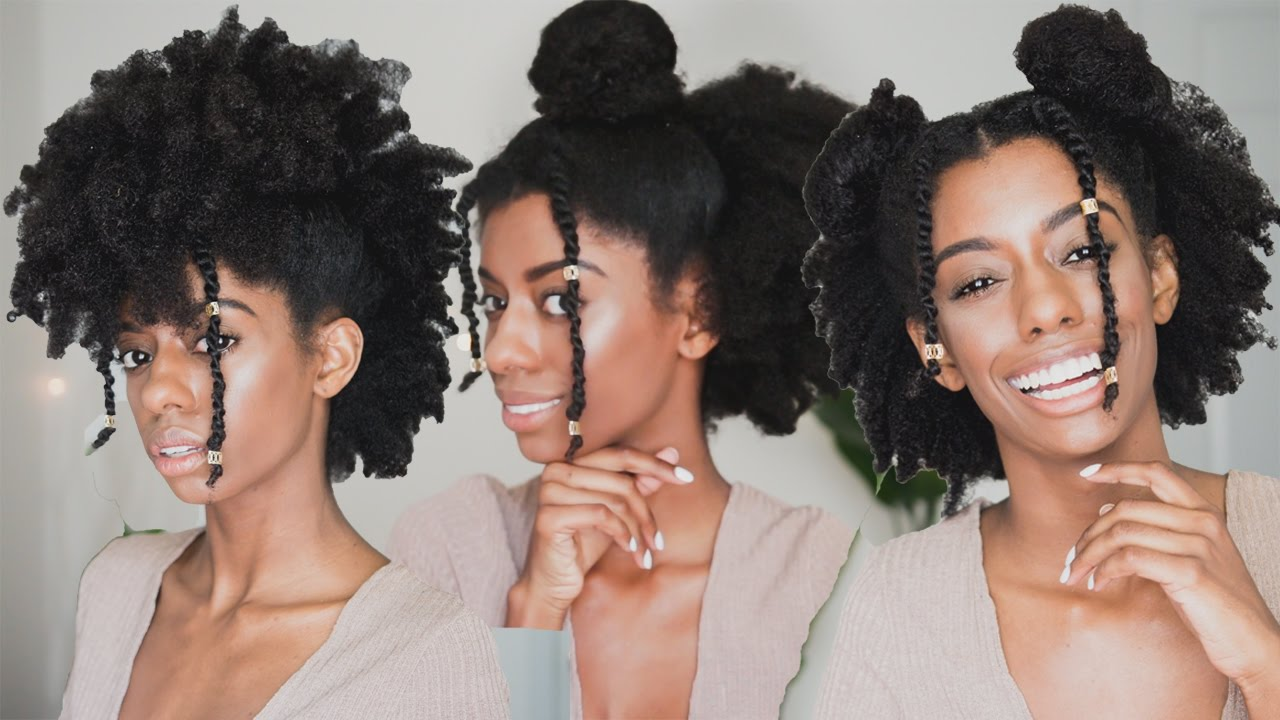 Quick Easy Natural Black Hairstyles