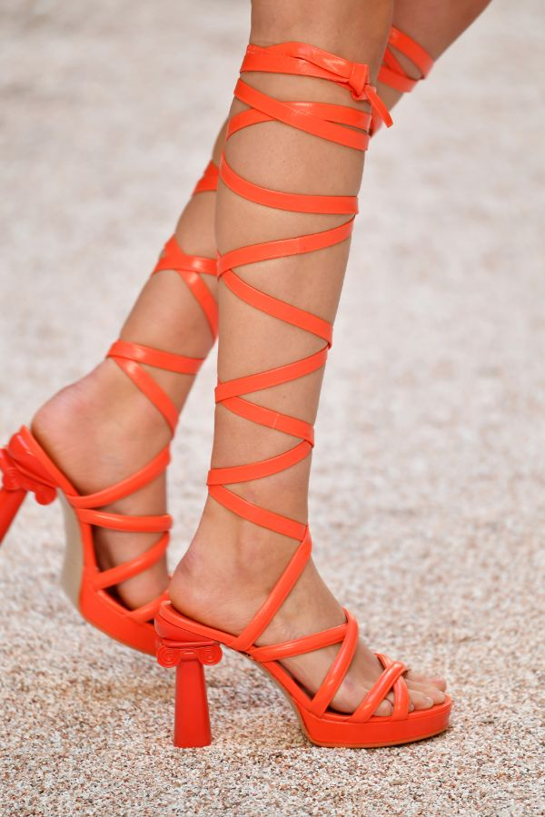 7069e6d329b Fancy Feet Tuesday! - Chanel Brought Back The Thigh High Gladiator ...