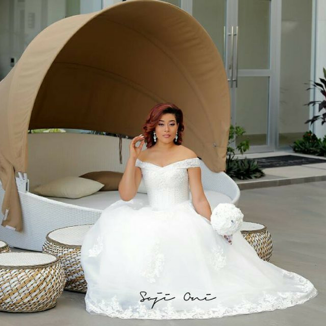 Nollywood Actress Adunni Ade Is A Very Beautiful Bride In These Chique Bridals Dresses