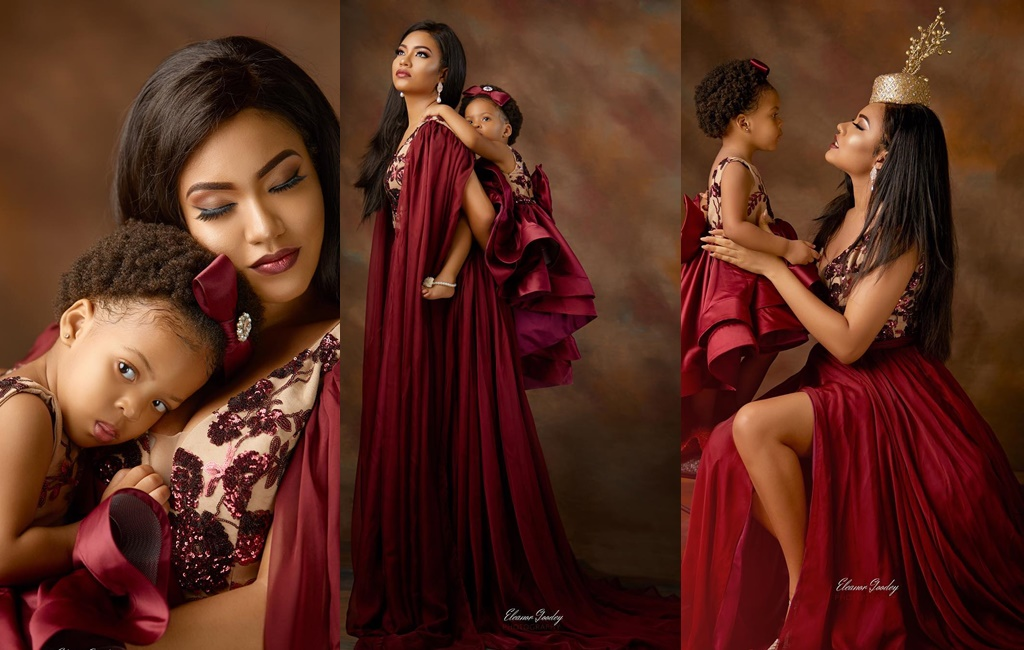 Adorable Pictures Of Anna Ebiere & Her Daughter!