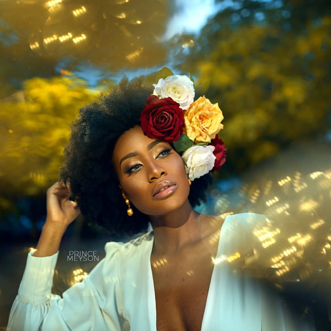 Efik Zara Is Natural Hair Goals In This Photoshoot With Jide Of St