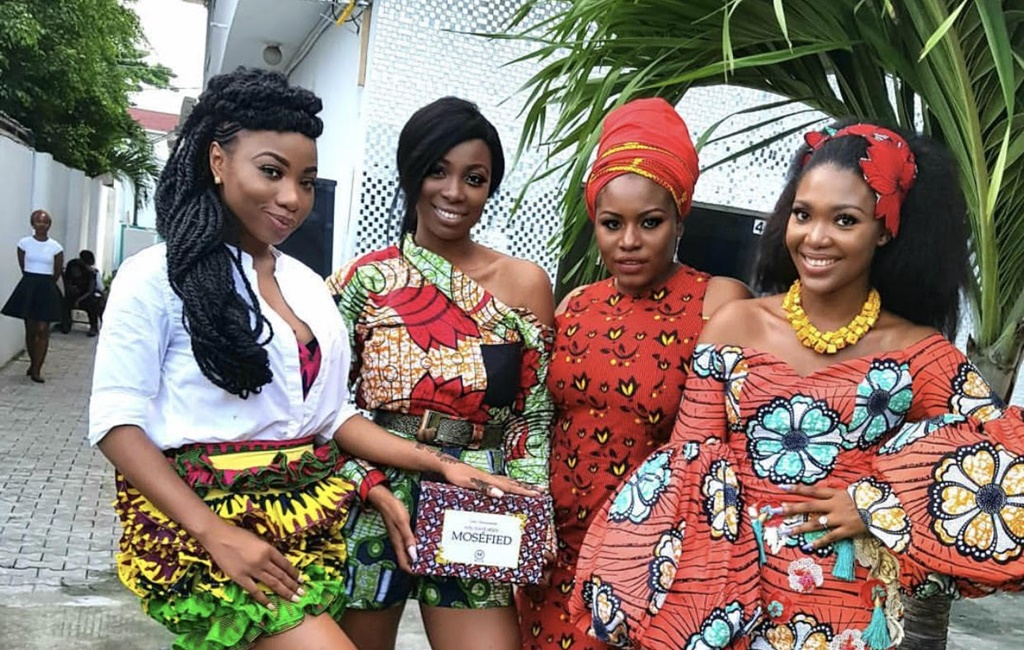 Ini Dinma Okojie, Mochedda, Kaylah Oniwo & More At The MOSÉ Beauty Store Launch