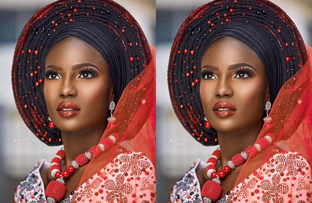 The Uniqueness And Beauty That A Black Gele Personifies