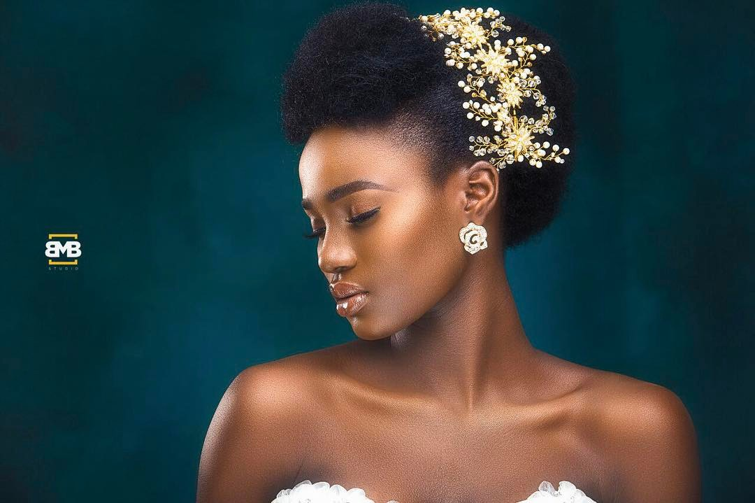 You Can Rock Your Nappy Hair On Your Wedding Like These Natural Hair Brides