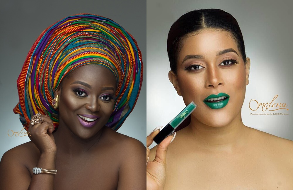 Jackie Appiah & Adunni Ade Are The New Brand Ambassadors Of Nigerian Owned Beauty Brand Omolewa Cosmetics