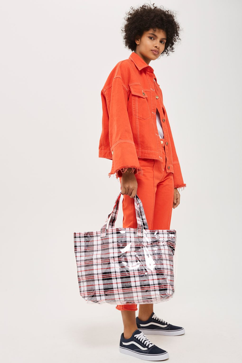 """Accessories: Would You Rock The """"Marty Check -Ghana-Must-Go Tote Bag"""" For £22.00?"""