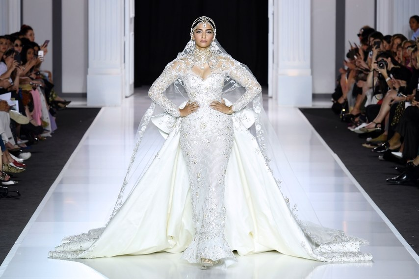 Favorite Bridal Looks From The Fall/Winter Haute Couture Paris Fashion Week