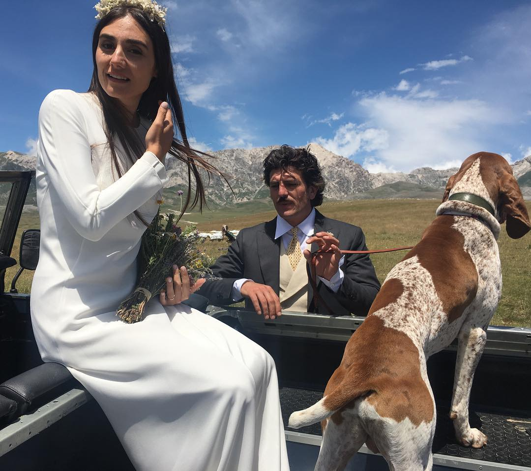 Beautiful Couple Margherita Cardelli & Gerardo Cavaliere Get Married In A Beautiful Rustic Ceremony By The Italian Countryside