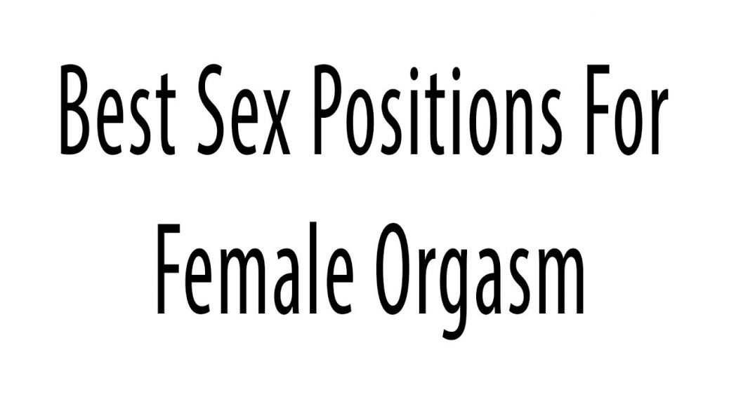 Sex positions with women on top