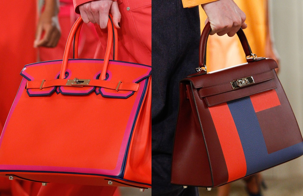 Hermès Introduced Colorful New Versions Of The Birkin & Kelly At The Resort 2018 Show