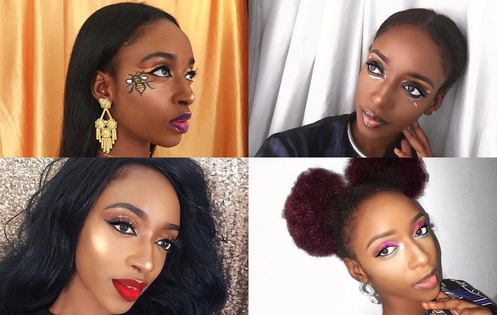 Beauty Crush – Angel Adugbe's Colorful Makeup Artistry Makes Us Happy!