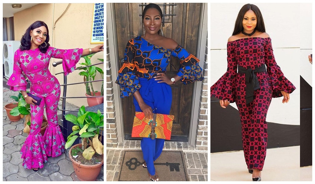 Ankara Styles 424 How To Style The Ankara Flare Sleeves Kamdora