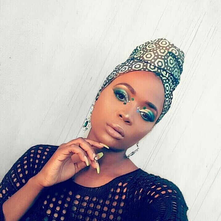 Beauty: Never Too Late For An Independence Inspired Makeup Look By Hawa Ibrahim!