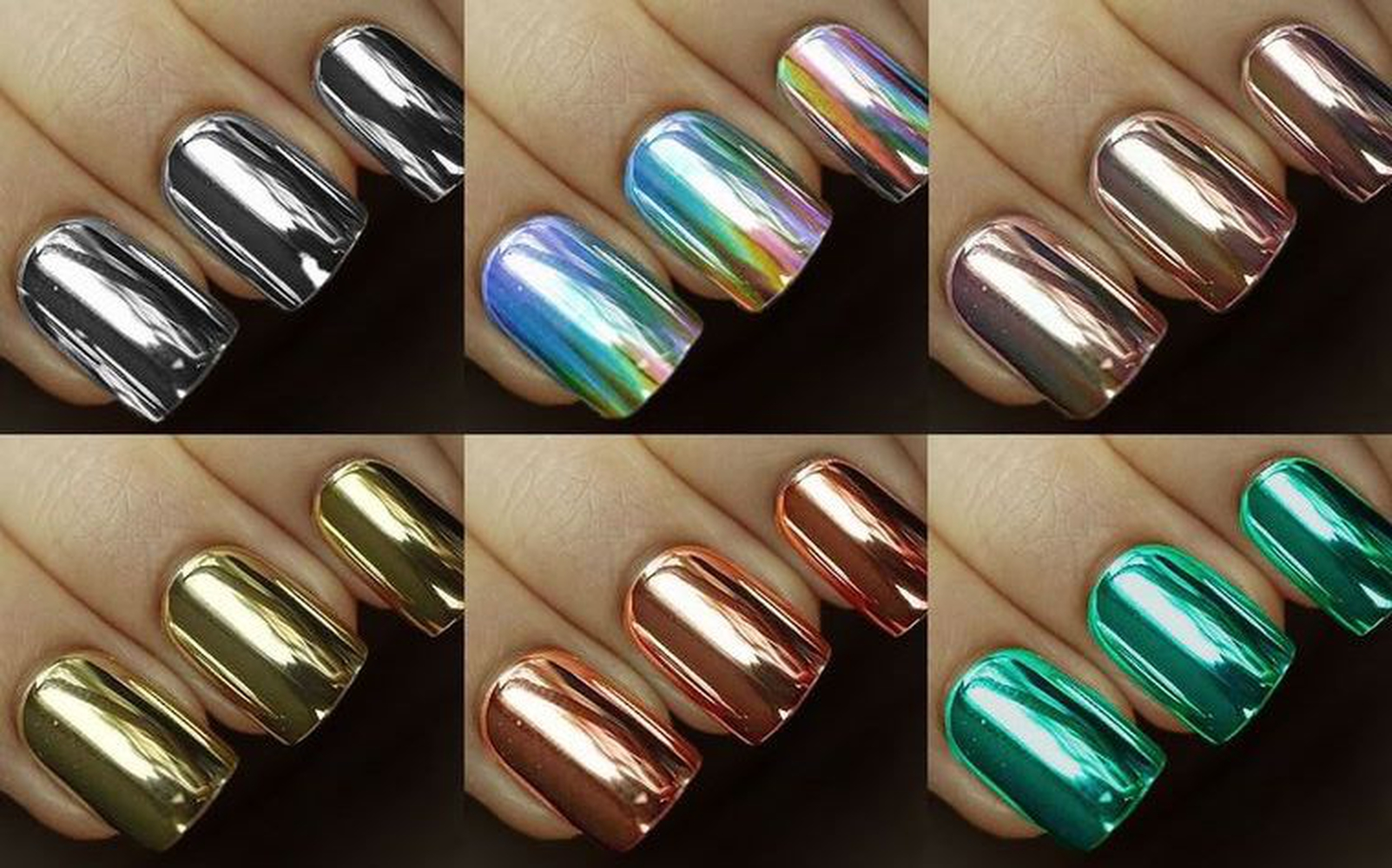 MondaysAreForManicures - Chrome Nails? It Works! | Kamdora