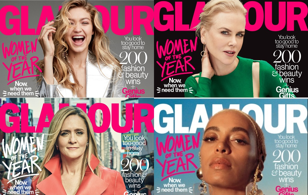 Solange, Gigi Hadid, Nicole Kidman & More Make The Glamour Women of the Year List