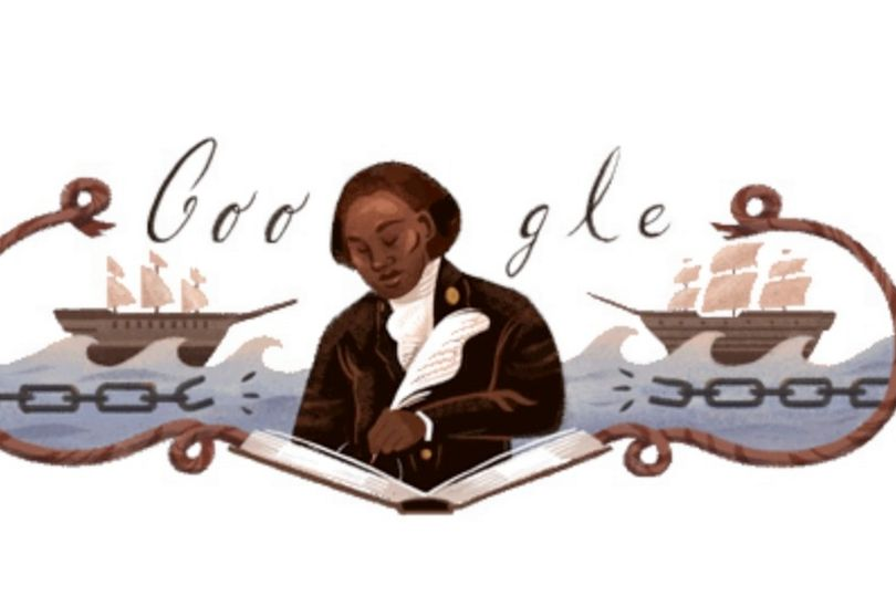 The Face of Google Doodle Today is Olaudah Equiano, A Nigerian Man Who Supported the British Movement to end the Slave Trade