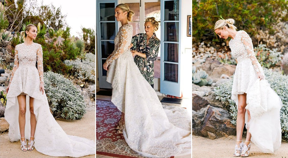 12 Celebrities Who Wore Unorthodox Wedding Dresses