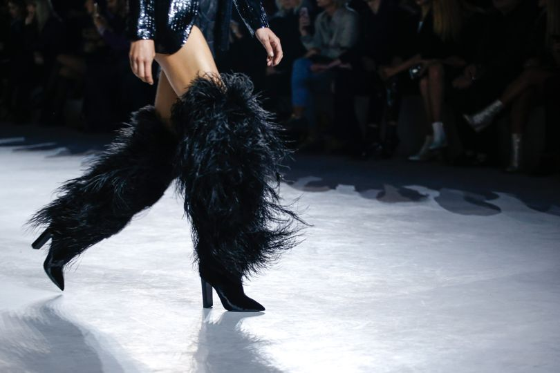 Naomi Campbell, Rihanna Rock The Saint Laurent Knee-Highs