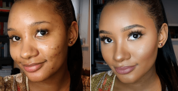 Watch Temi Otedola's First Ever Make Up Tutorial