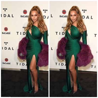 Beyonce's Stunning Dress For Tidal x Brooklyn Charity Concert