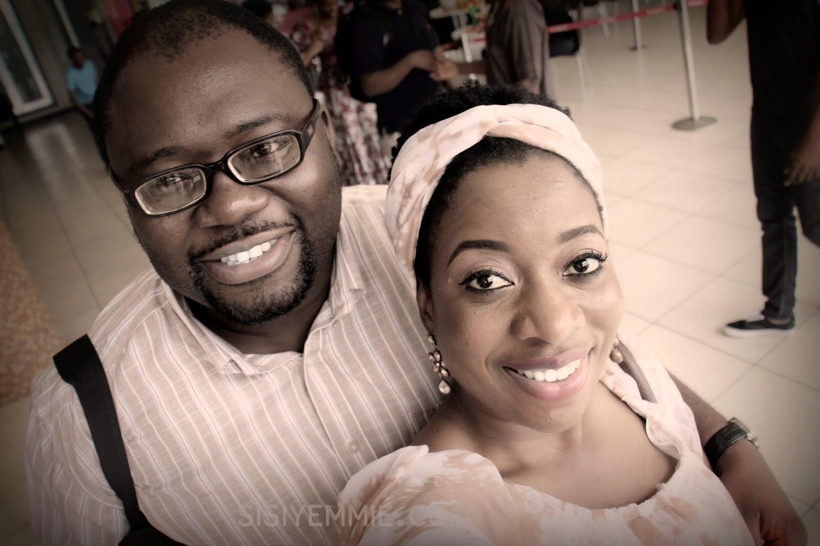 Sisi Yemmie & Her Husband, Bobo, Are Off To South Africa For a Baecation!