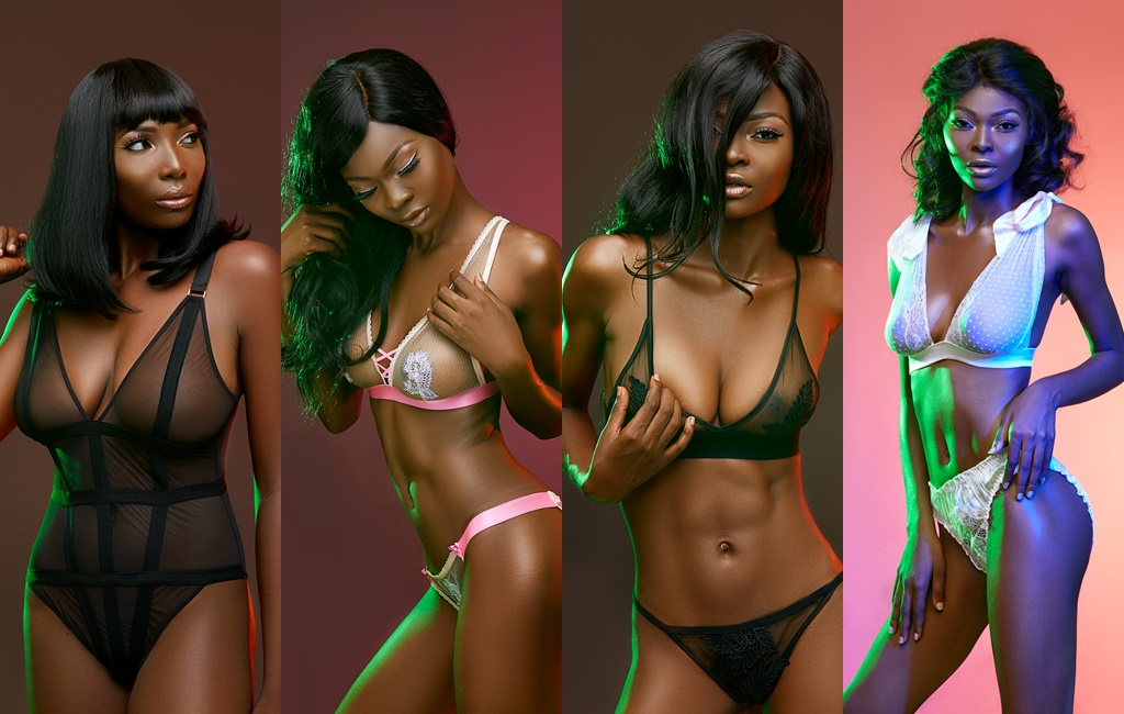 Sshhh Lingerie Unveils New Sultry Campaign Celebrating the Nigerian woman & her Sensual Body