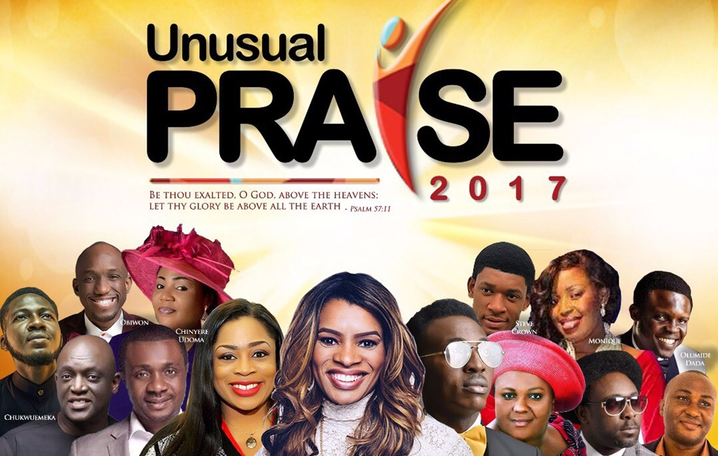 YES!!! Gearing Up For Another Night Of Spirit Filled Praise at the 2017 Unusual Praise!