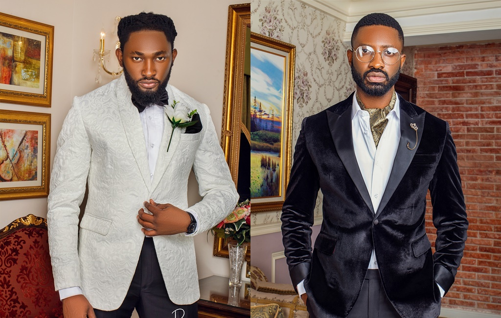Uti Nwachukwu & Ric Hassani Are Model Gentlemen for Rogue