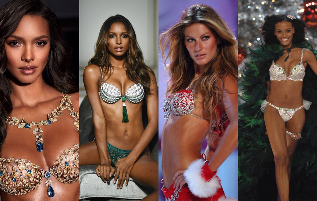 eeba8acd7 Pin It  ThrowbackThursday – The Victoria s Secret Fantasy Bra Over The Years  + Lais Ribeiro Is This