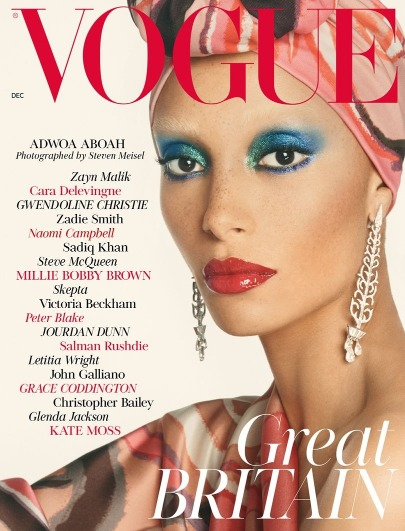 Adwoa Aboah's Becomes Vogue's December Cover & Talks With Edward Enninful!