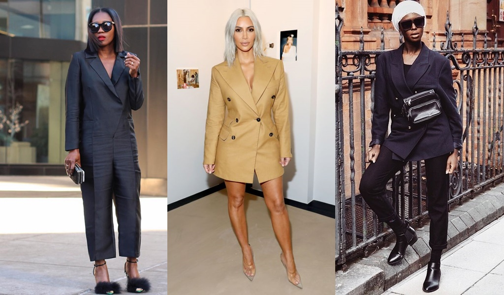 Work Chic Girl? 5 New Ways To Be On Your A-Game In Blazers In A Snap!