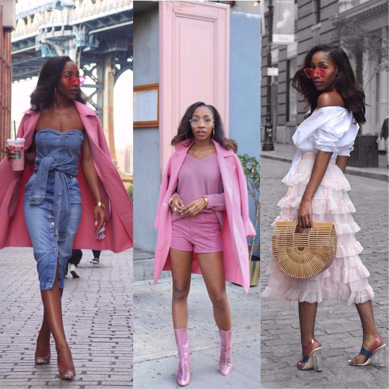 Fashion: Chinyere Adogu Is A Street Style Chic In Pink!