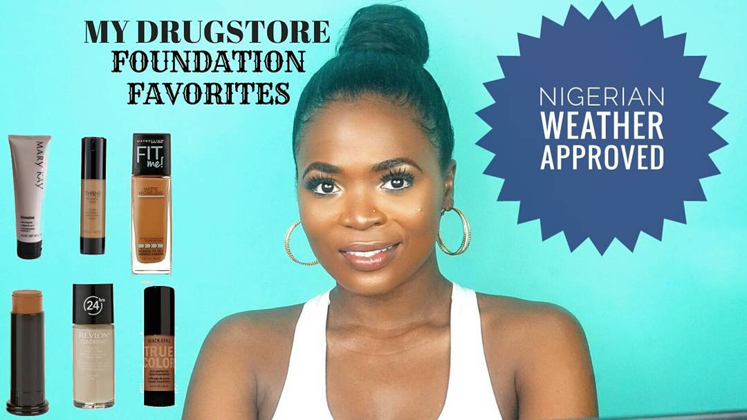 D Nubian Way Presents Drugstore Foundation Suitable For The Nigerian Weather!
