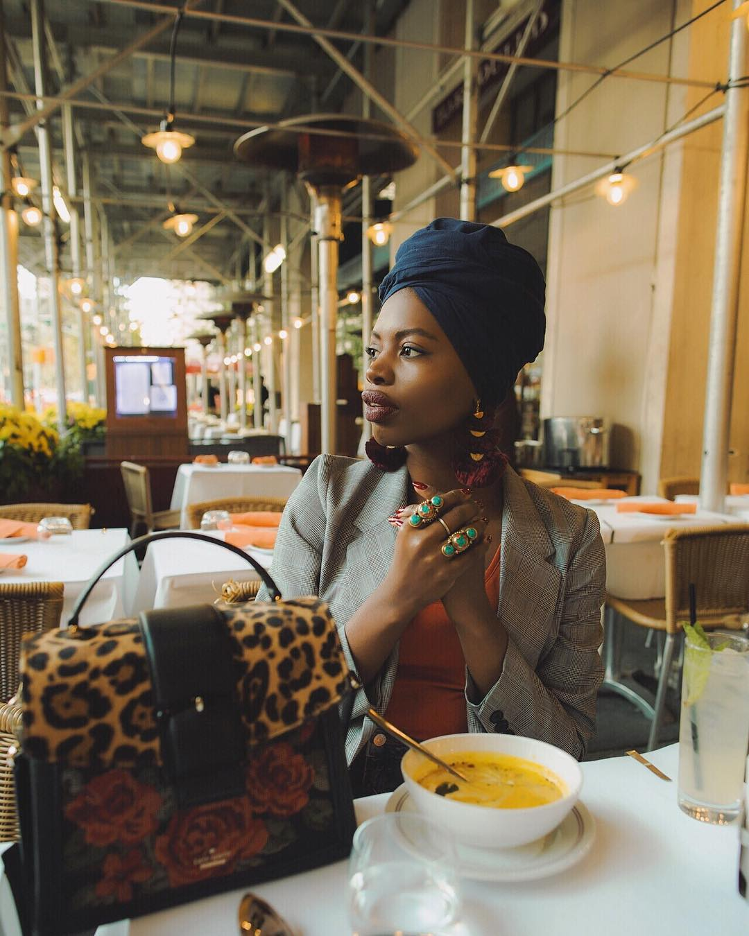 Paola Mathe Ties The Best Turbans & We Are Loving The Vibe!