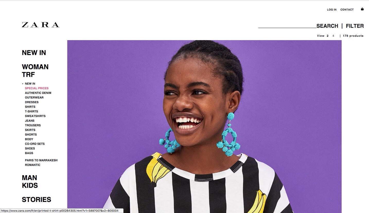 From Nigeria To The World!! Elizabeth Ayodele Is The Face of Zara!!