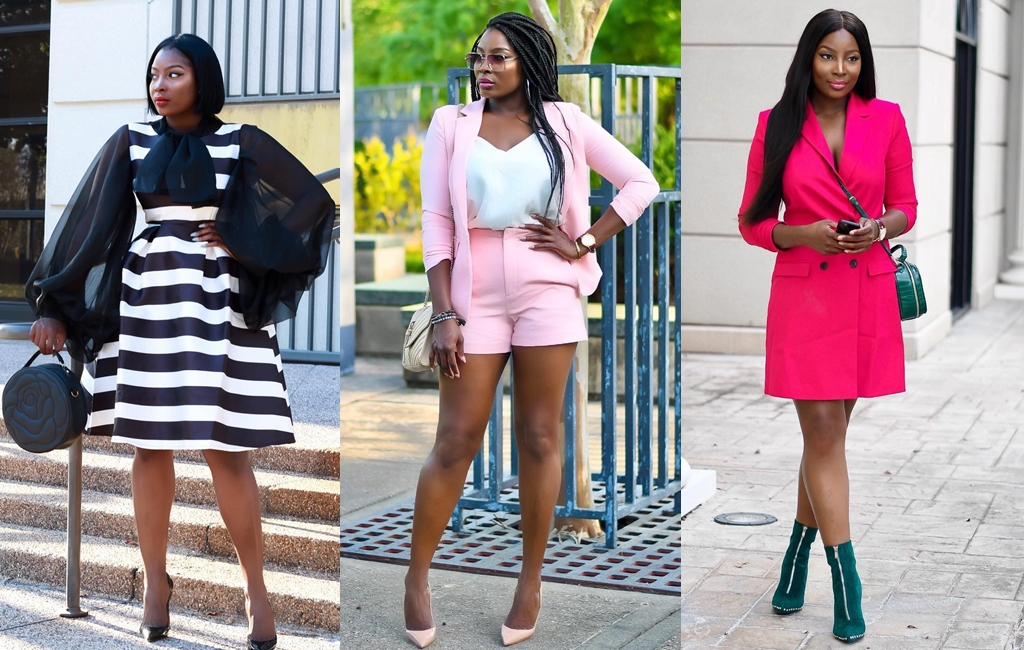 Like A Boss Chic! 6 Work Style Inspiration From Blogger & Influencer- Agatha Ashiofu!