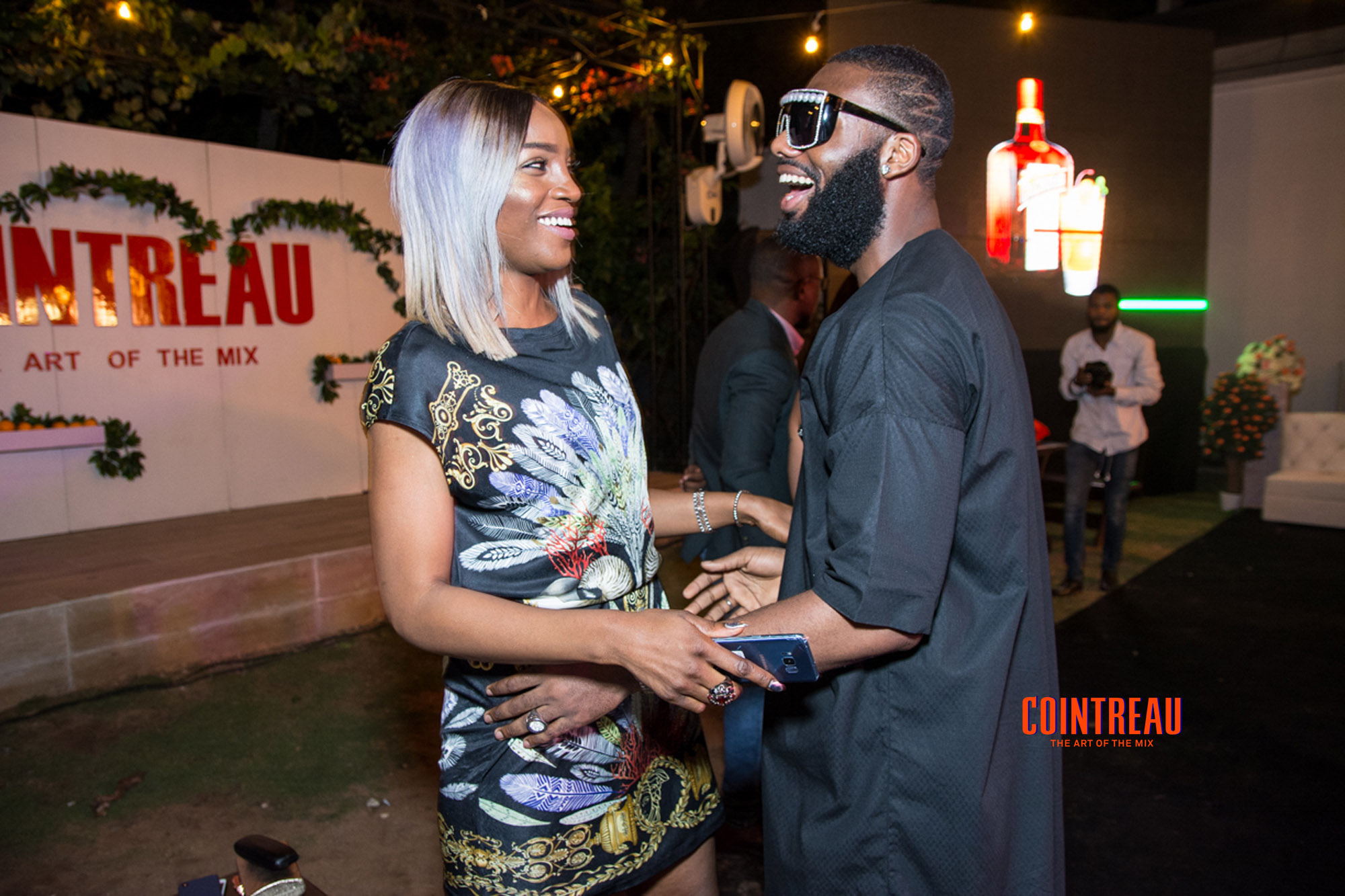 The Art of The Mix with Cointreau & Media Room Hub: Azuka Oguijuuba Celebrates Magazine's One Year Anniversary