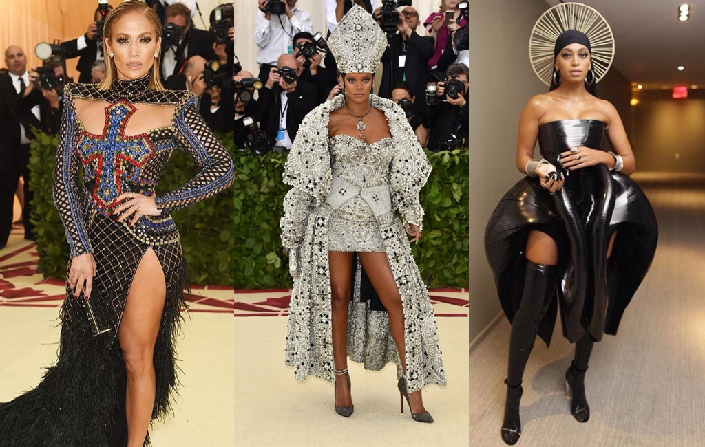 #MetGala2018: All The Looks That Shook Religious Tables!