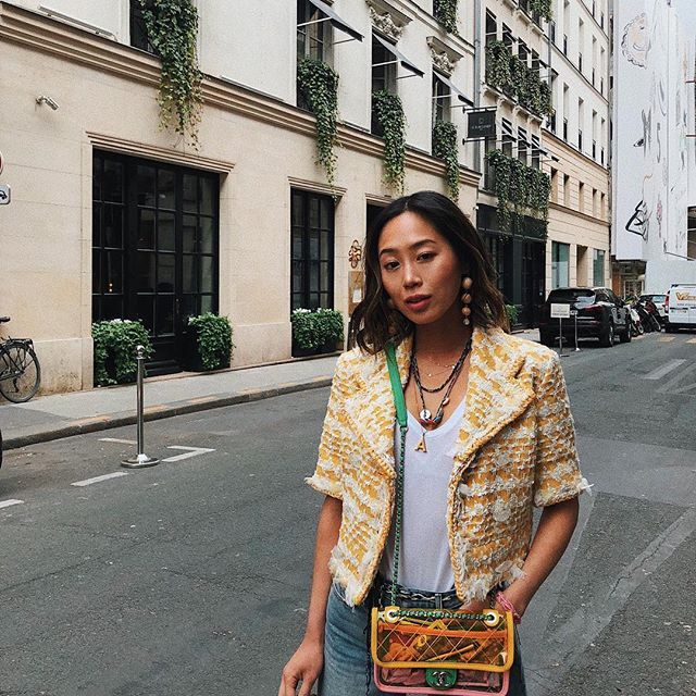 How To Style A white T-Shirt To Work By Amiee Song