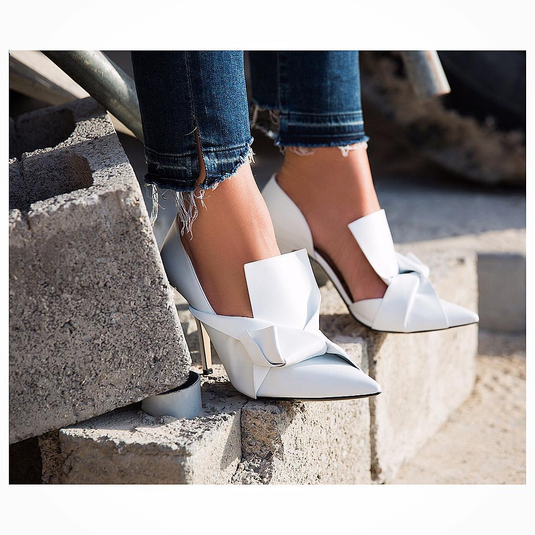 #ShoesdayTuesday – How To Style White Shoes!