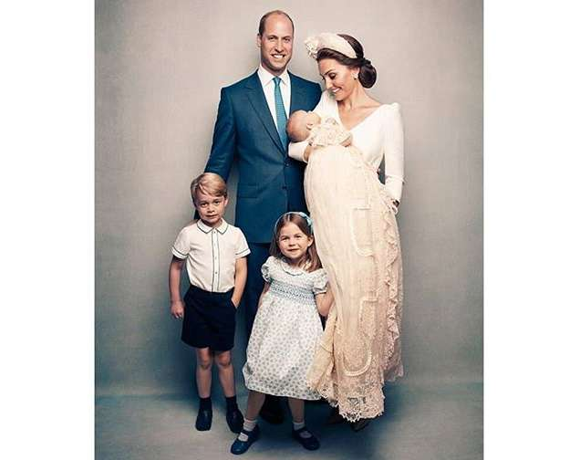 The Official Photographs To Mark The Christening Of Prince Louis