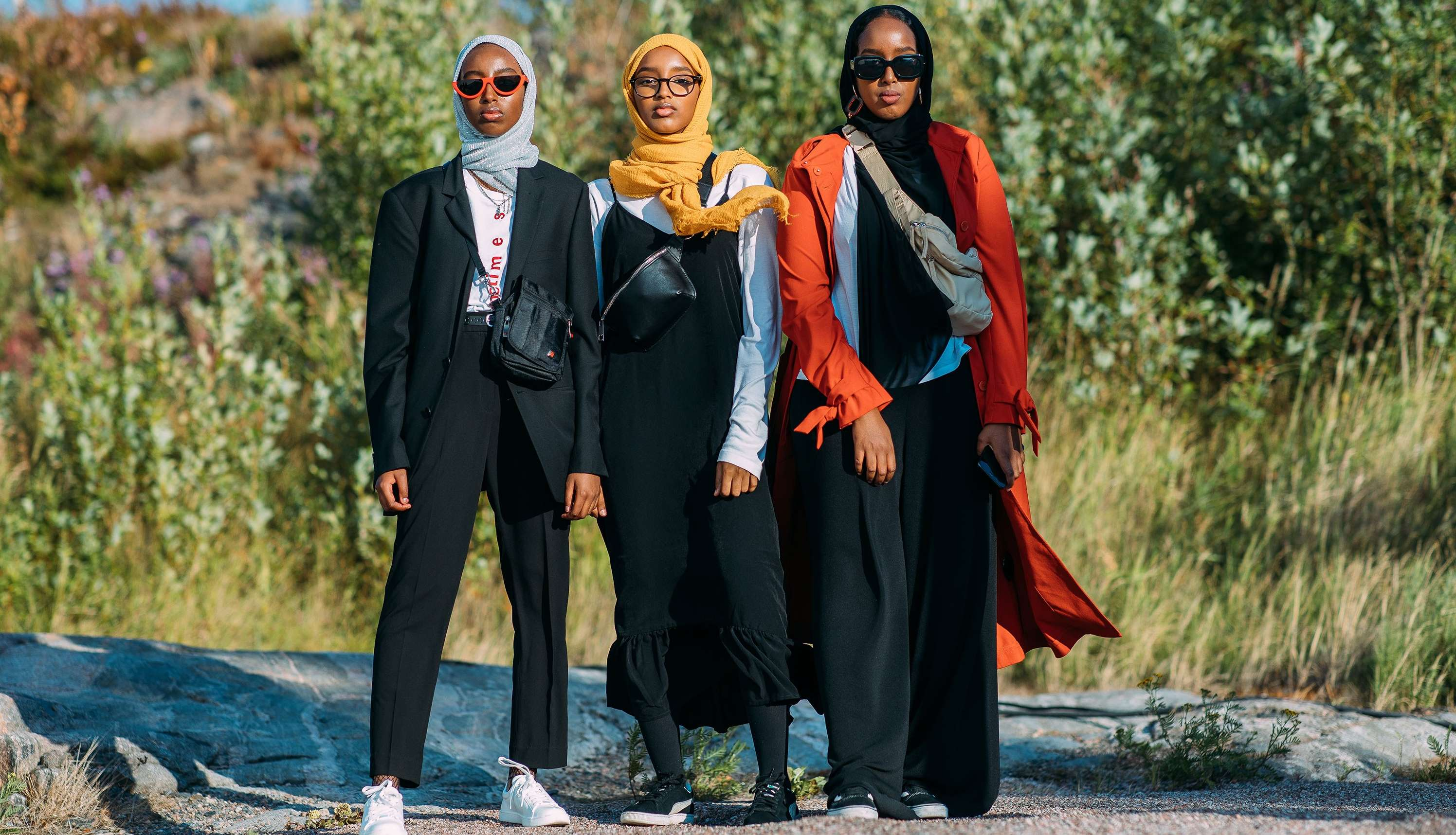Street Styles From Helsinki Fashion Week Spring 2019