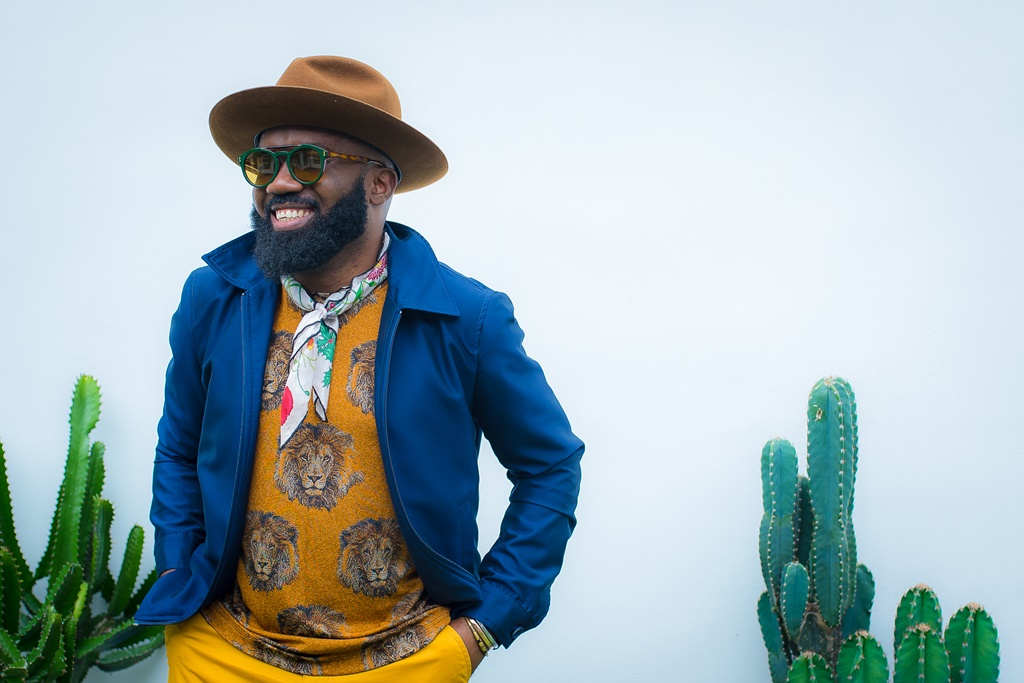 Of Colorful Playbooks & Clean Aesthetics : A Noble Igwe x David Wej Collaboration