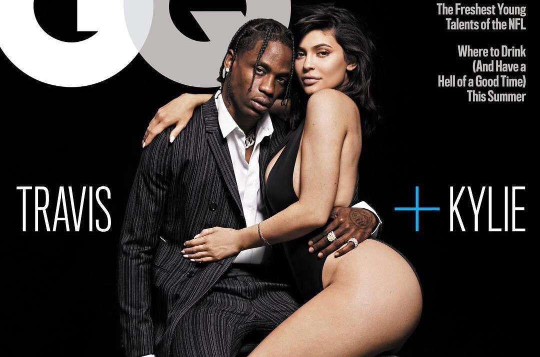 Kylie Jenner And Travis Scott Pose As GQ Magazine's Cover Picture