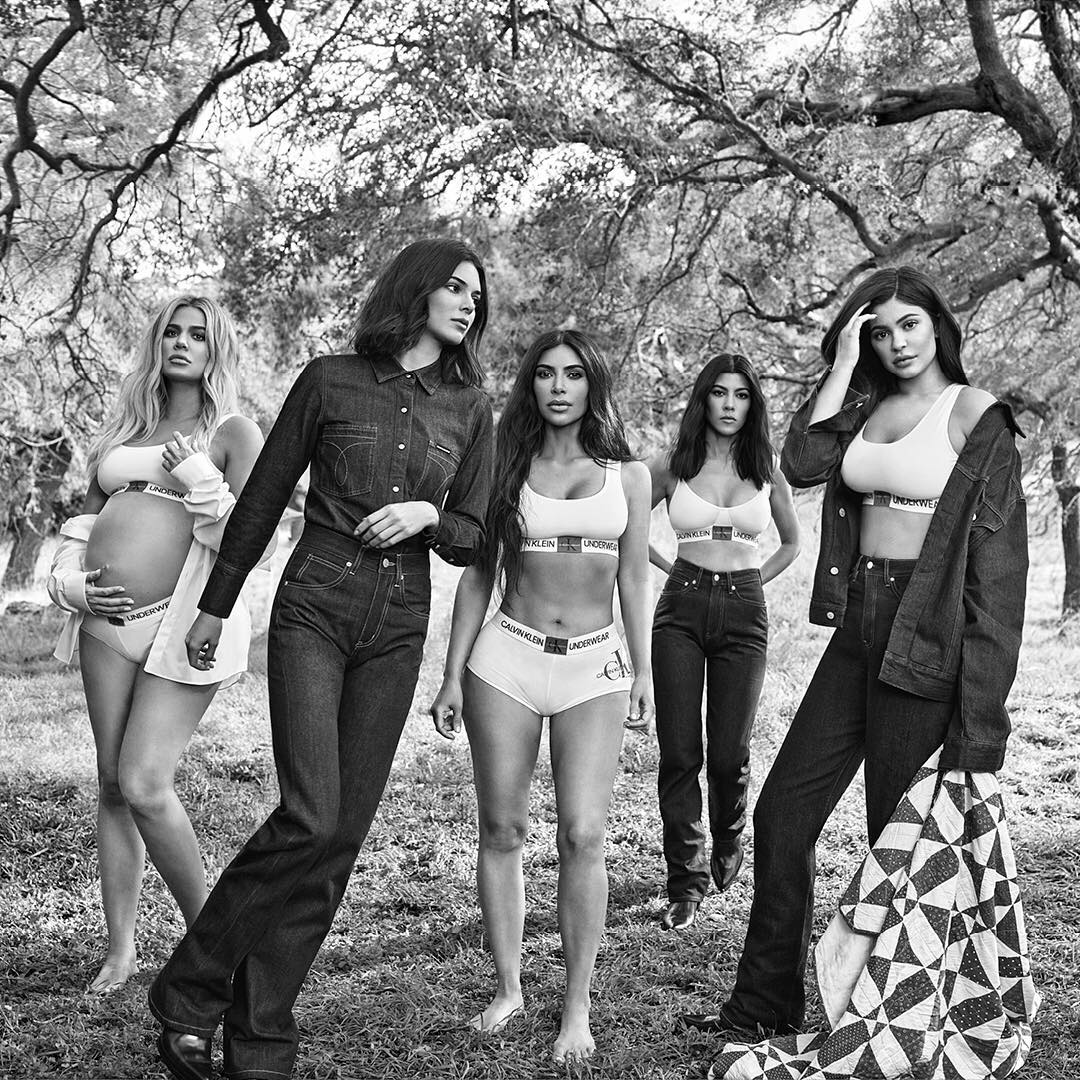 The Kardashian Sisters Model For Calvin Klein's Fall 2018 Campaign